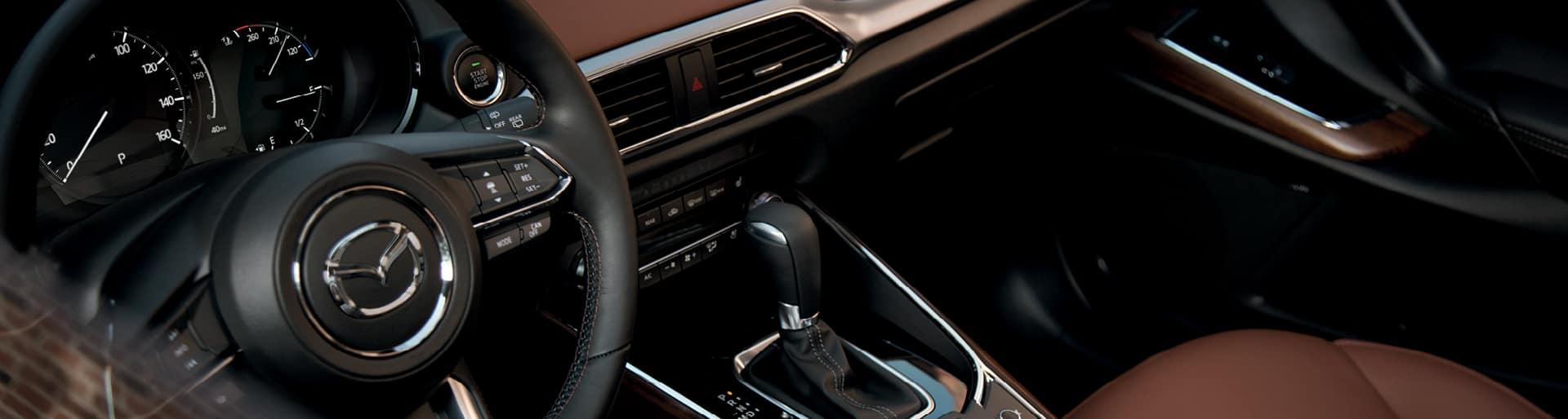 2019 Mazda CX9 interior