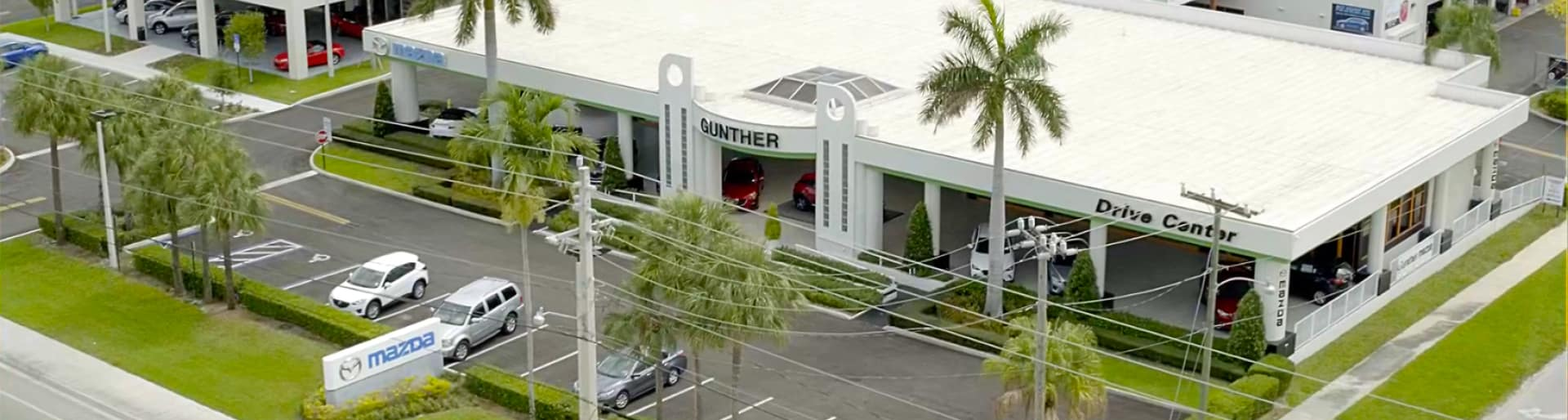 Gunther Mazda dealership exterior