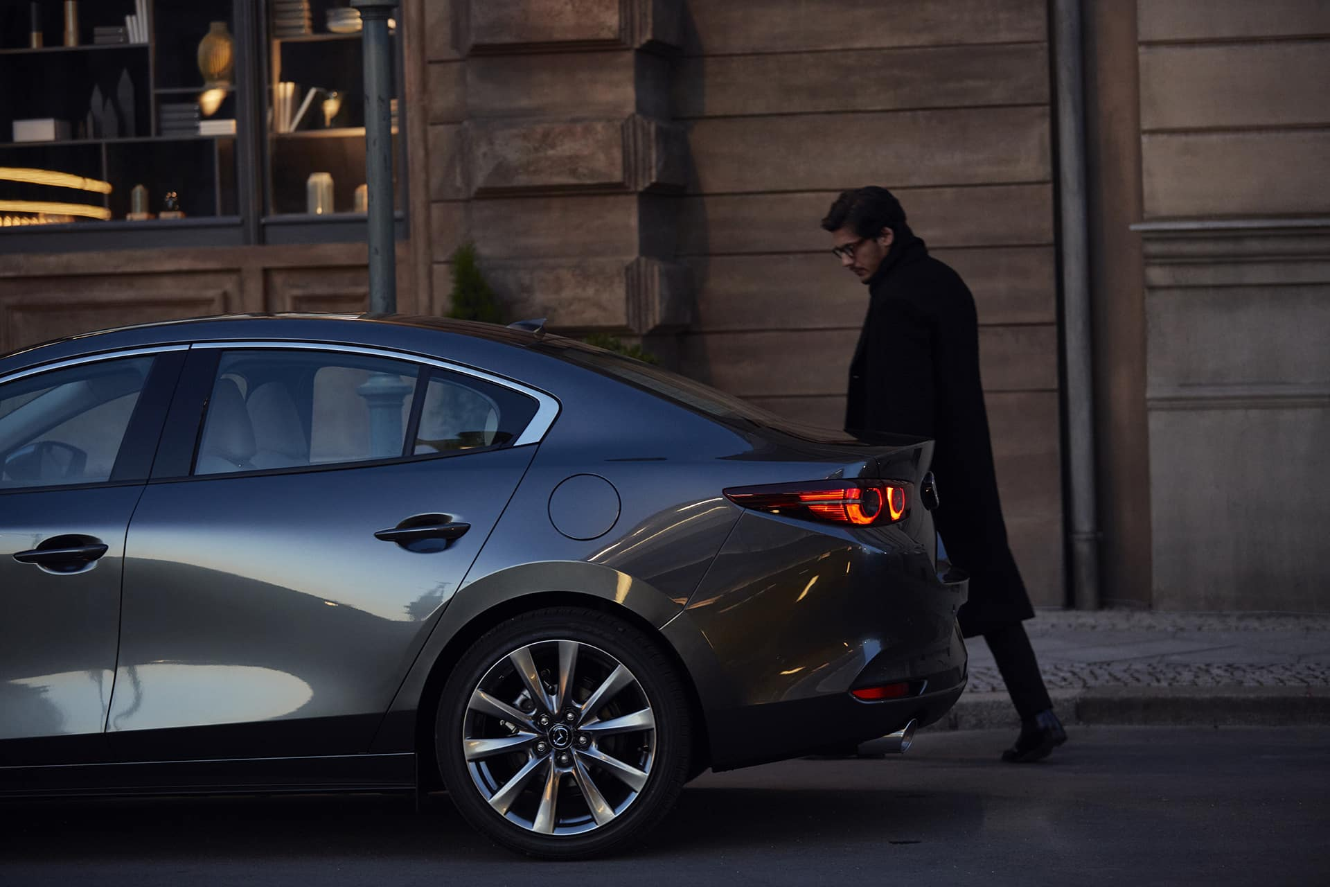 2020 Mazda3 Sedan Exterior Image Wheel