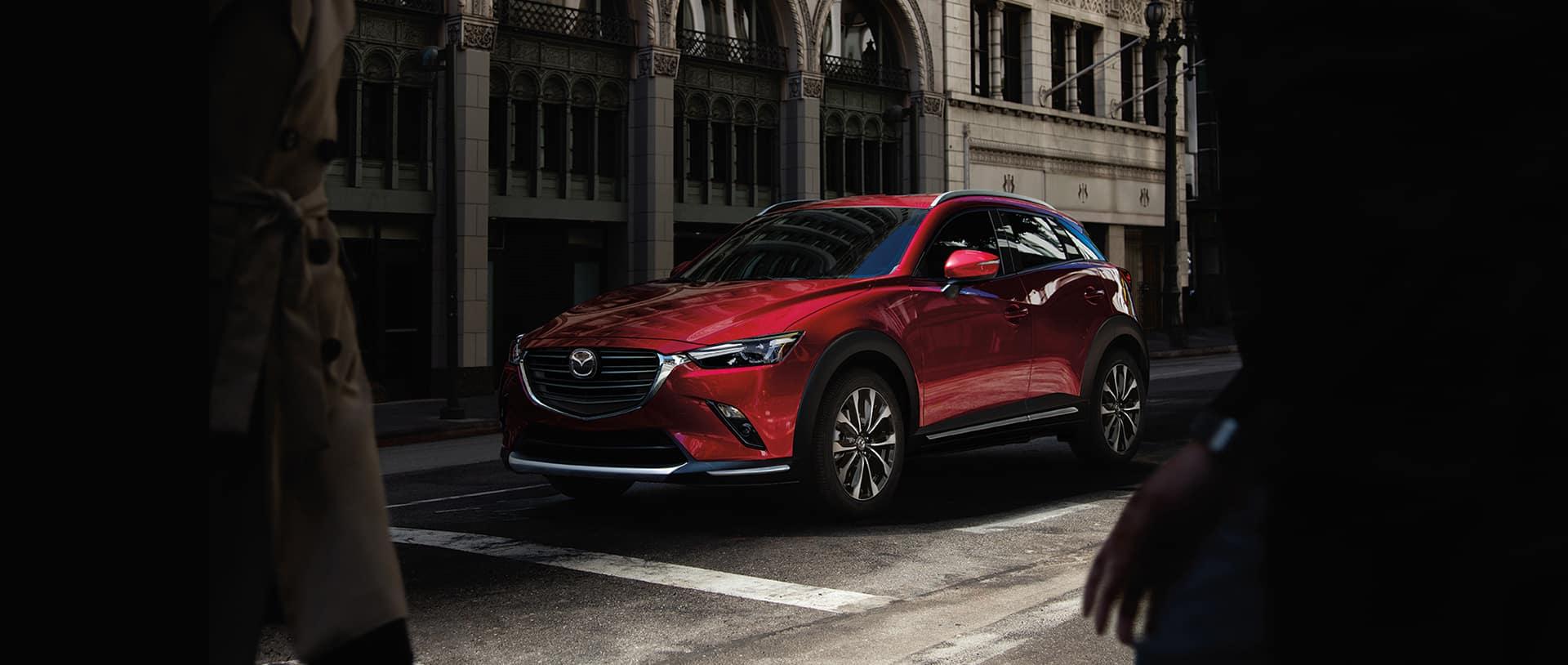 2020 Mazda CX-3 in Red
