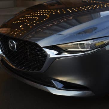 2020 Mazda3 Sedan Exterior Image Front Grill