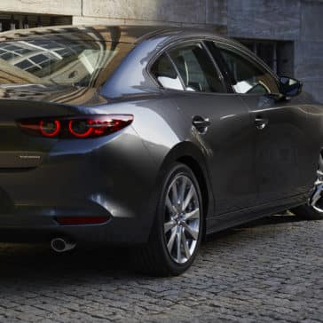 2020 Mazda3 Sedan Exterior Image Rear