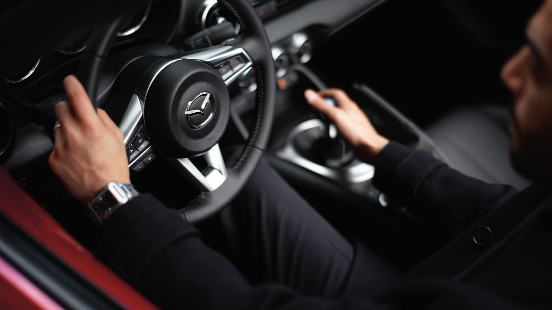 2020 Miata interior driver seat