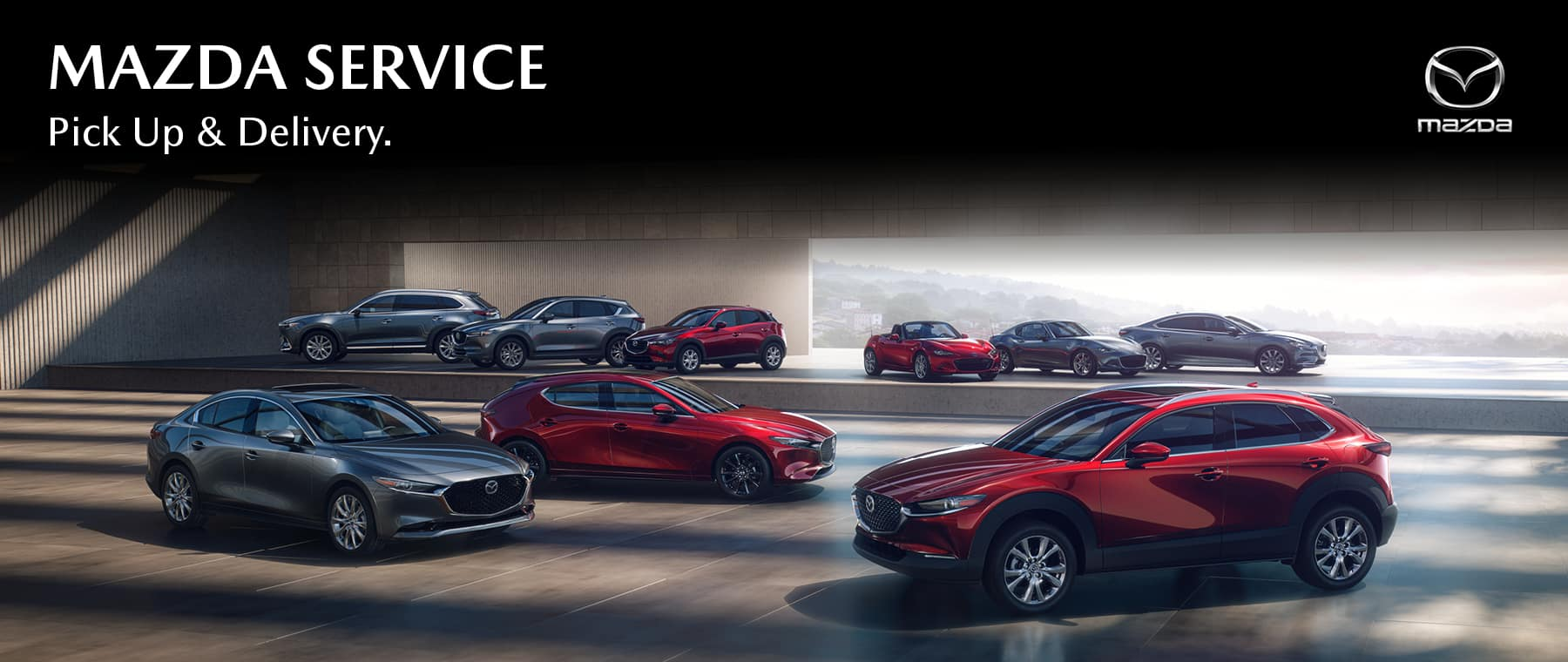 Gunther Mazda Pick Up & Delivery Service