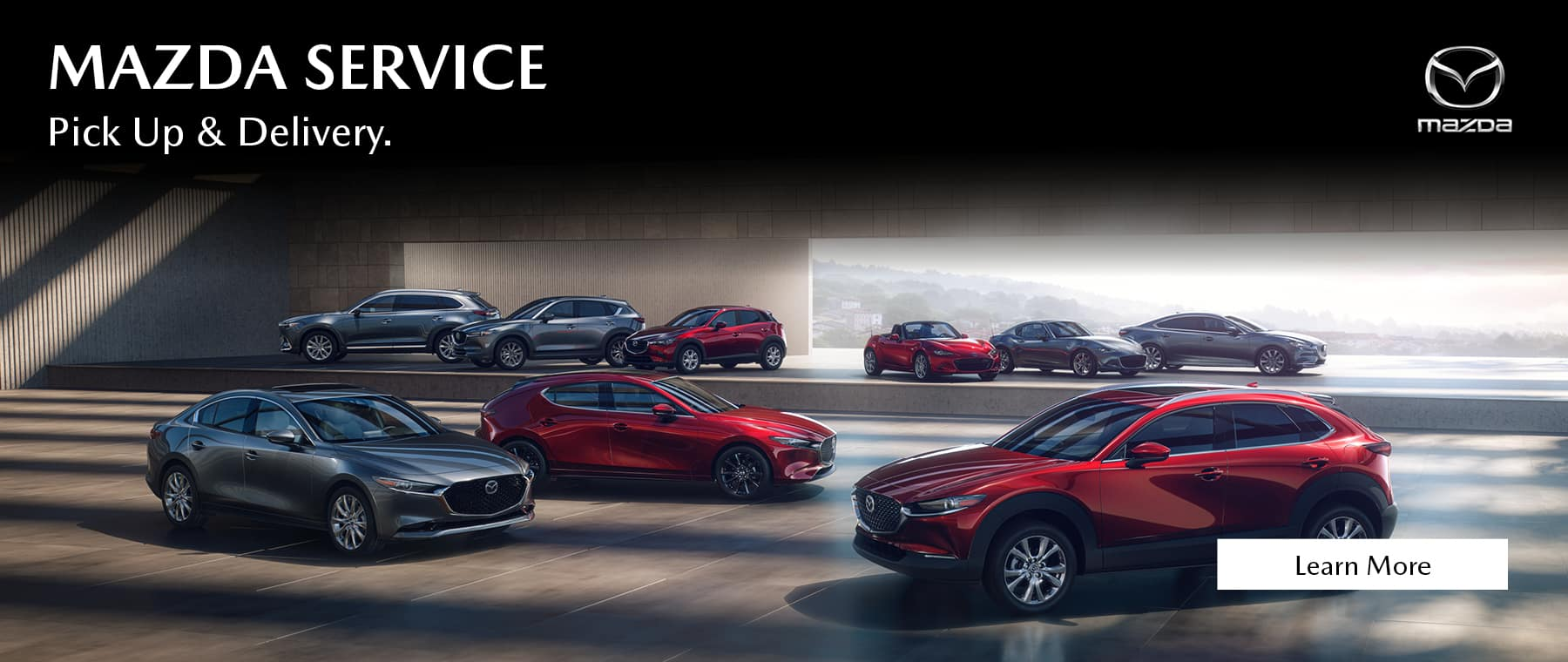 Mazda service. Delivery and Pick up.