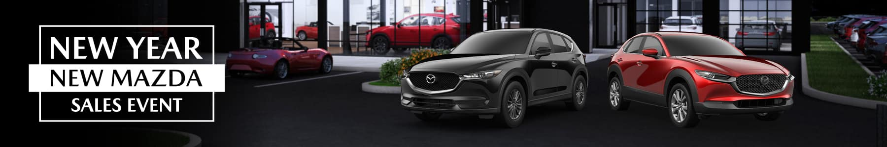 New year, new Mazda sales event. Happy new year from Gunther Mazda.