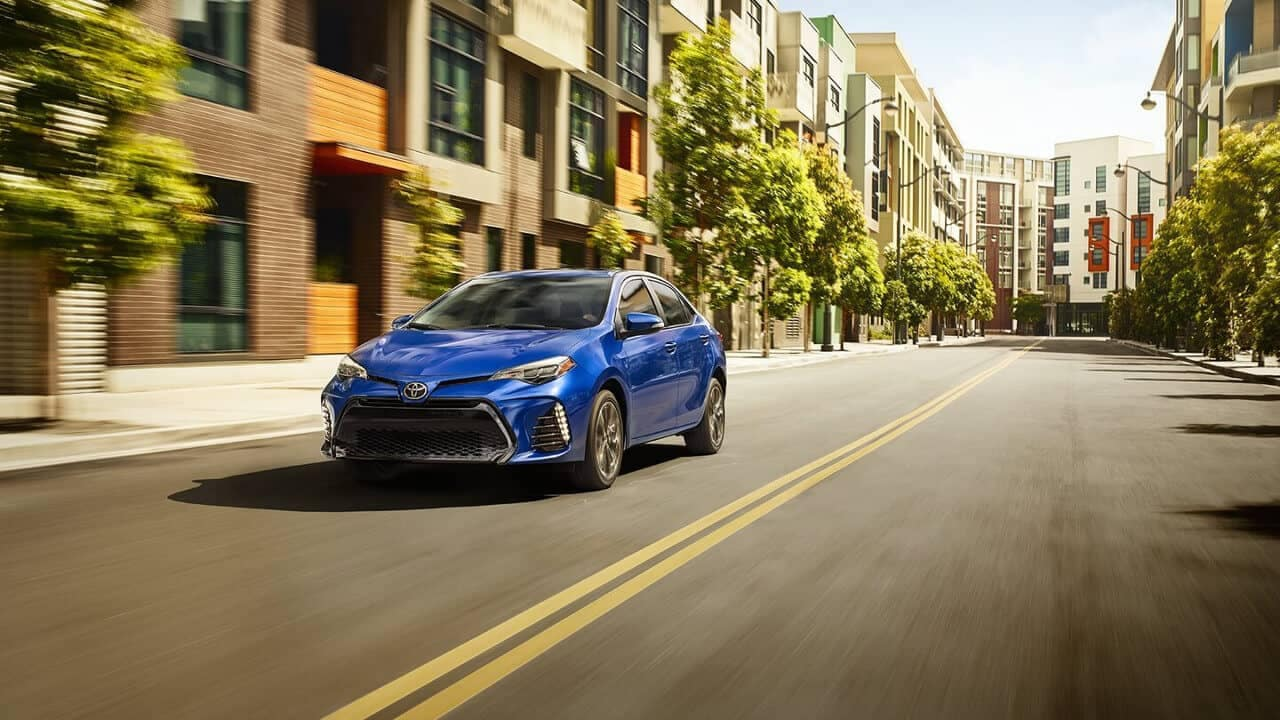 2018 Toyota Corolla City Driving