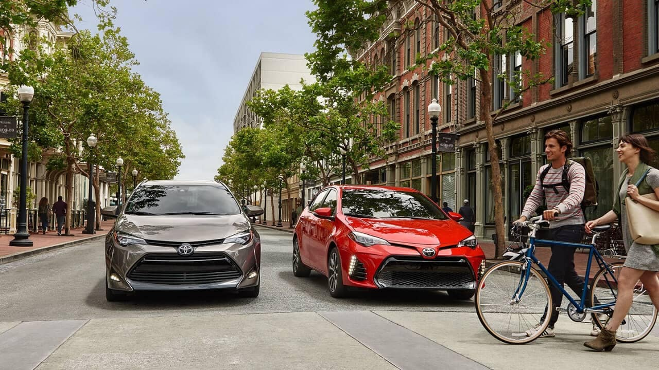2018 Toyota Corolla Two Cars