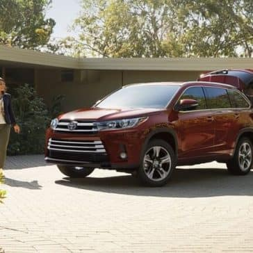 2018 Toyota Highlander Outside Home