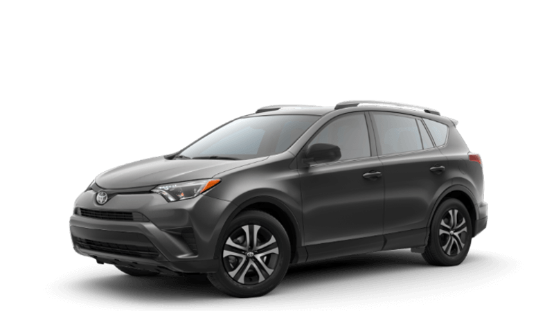 2018 Toyota RAV4 on white