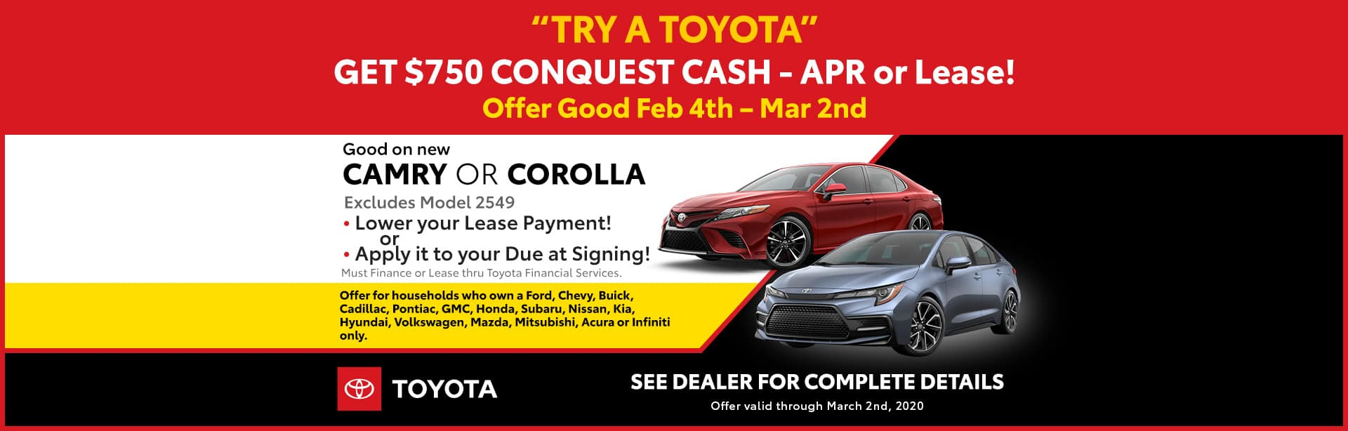 Try a Toyota
