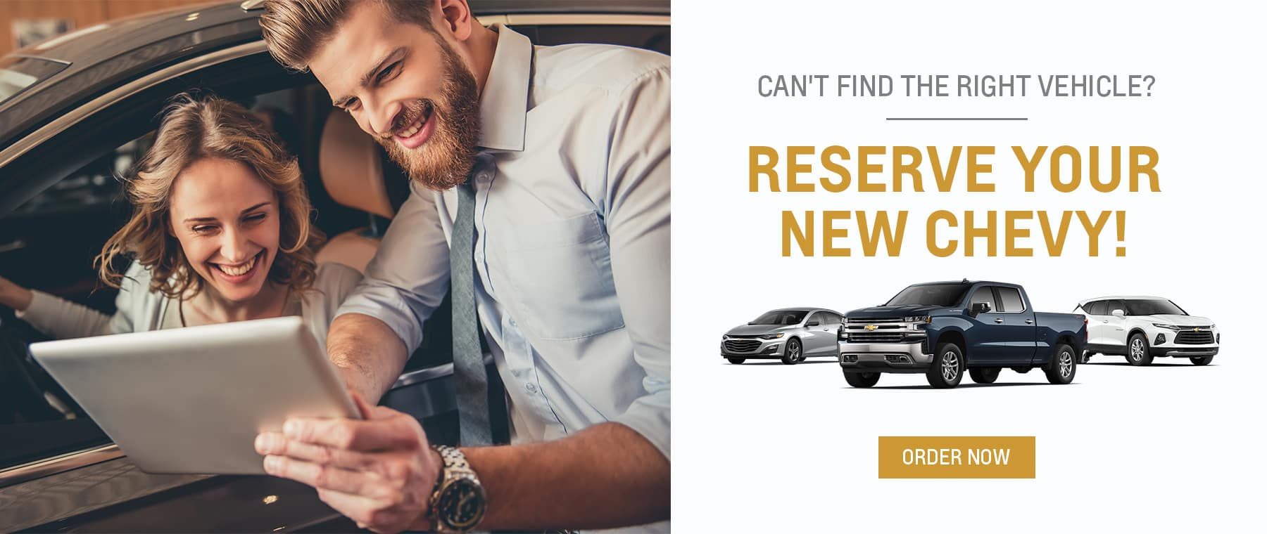 Reserve a New Chevy