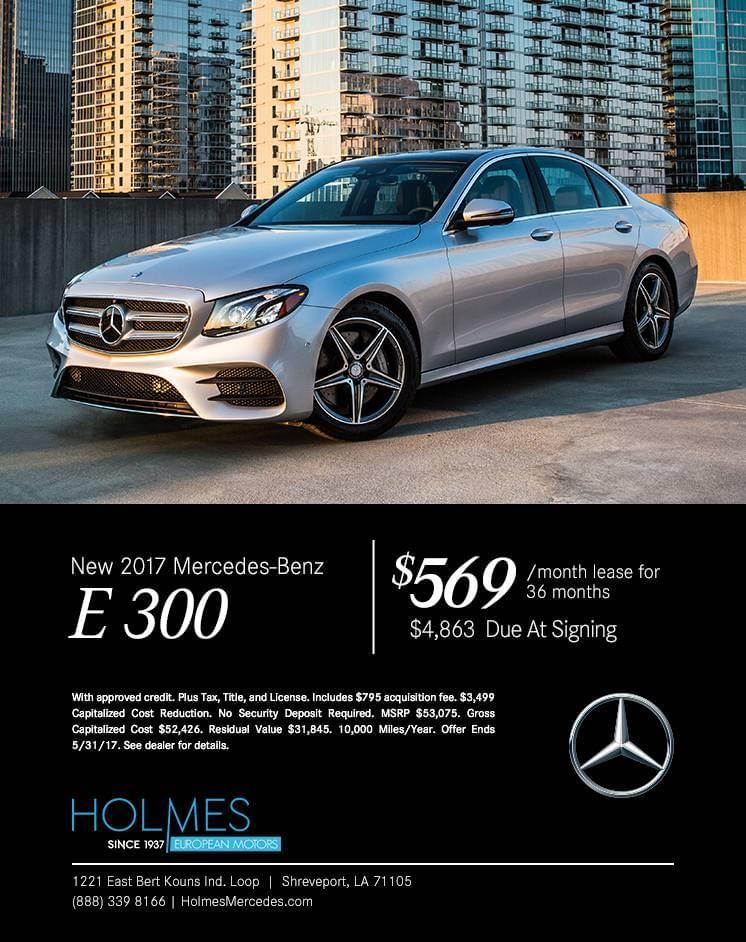 Holmes European Motors, MErcedes Benz Shreveport, E 300 Shreveport, New Mercedes