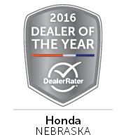 Honda of Lincoln Awards