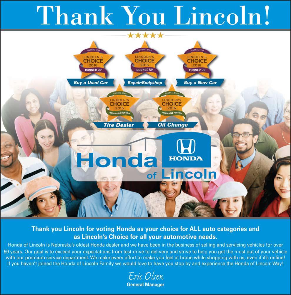 Lincolns choice awards