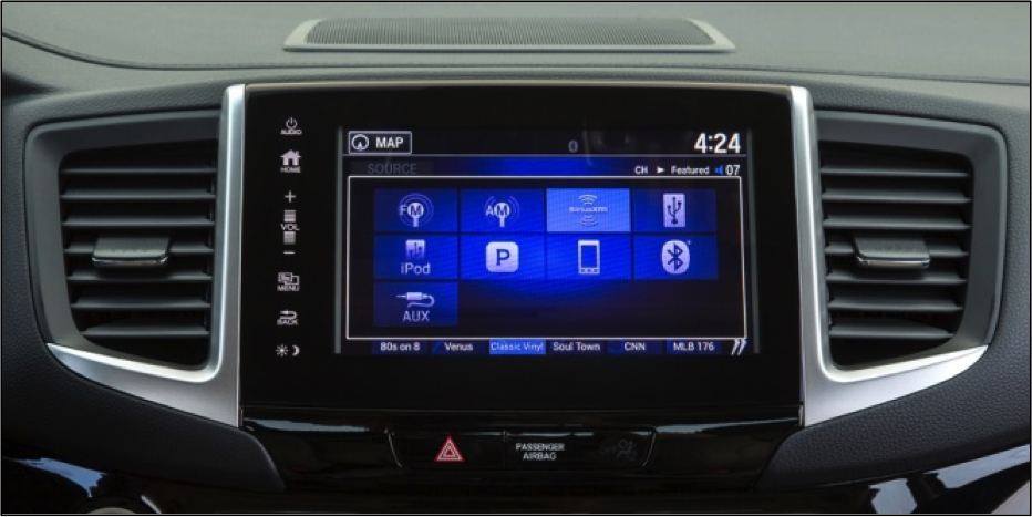 2017 Honda Ridgeline Audio and Connectivity