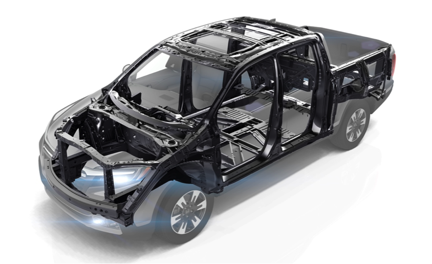 The 2017 Ridgeline Also Features Hondau0027s Next Generation Advanced  Compatibility Engineering (ACE) Body Structure, Which Provides A High  Degree Of Occupant ...