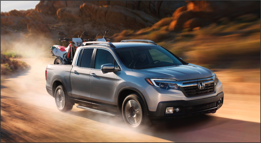 2017 Honda Ridgeline Press Kit - Overview