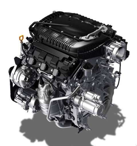 2017 Honda Ridgeline Powertrain