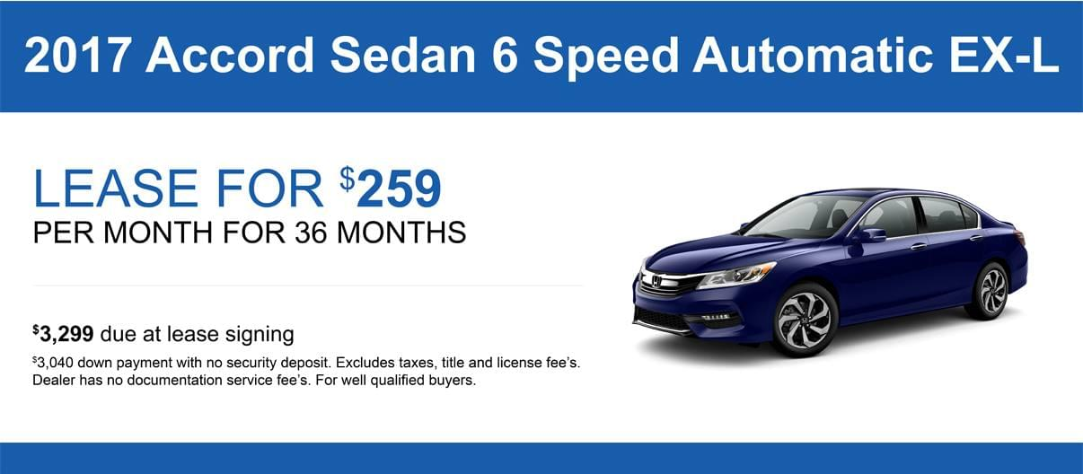 Honda Accord Lease And Current Offers Honda Of Lincoln