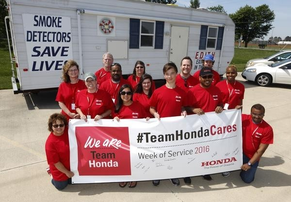 Team Honda Week Of Service Lends A Helping Hand Across North America Manufacturing Alabama
