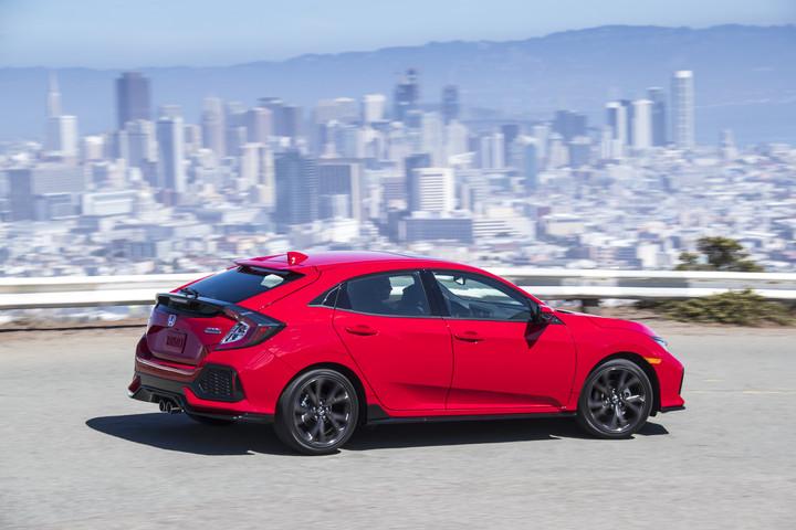 New Euro-Inspired 2017 Honda Civic Hatchback
