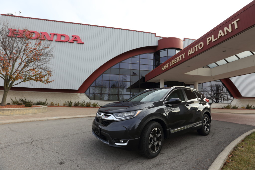 Honda Begins Production Of All New 2017 CR V In Ohio First Ever Global Launch For East Liberty Plant Three Plants North America