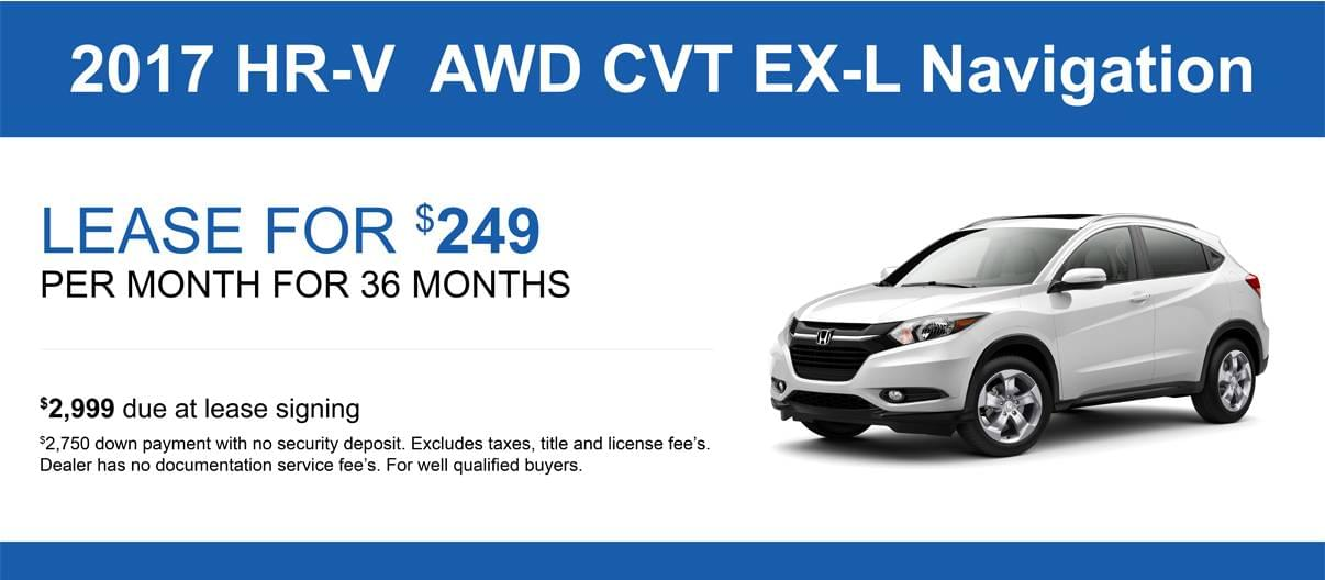 Hrv Lease Specials And Offers Honda Of Lincoln