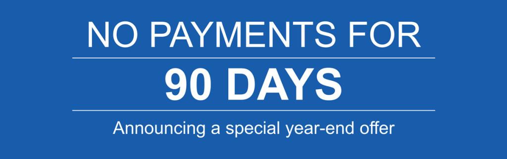 defer 1st honda payment 90 days