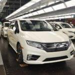 2018 Honda Odyssey Minivan Begins Mass Production in Alabama