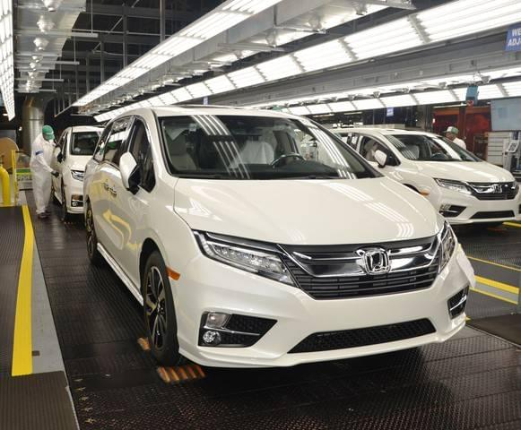 Honda Dealerships In Alabama >> 2018 Honda Odyssey Minivan Begins Mass Production In Alabama