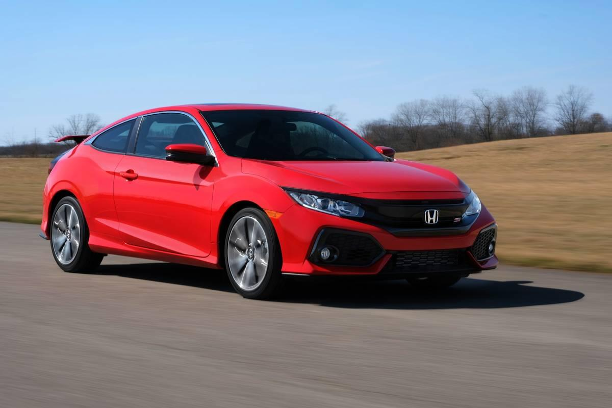 2017 honda civic si coupe and sedan on sale tomorrow at for Honda civic dealership