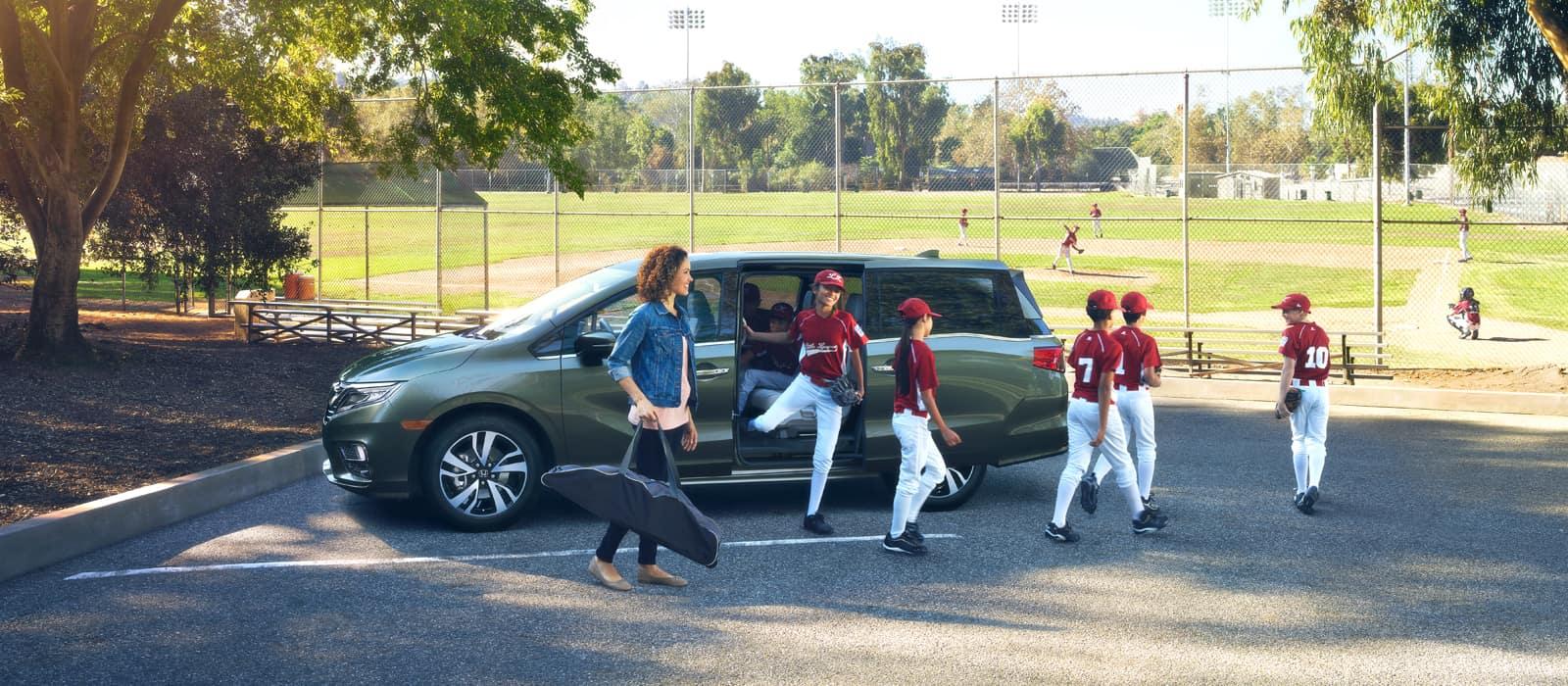 Honda Odyssey Homepage