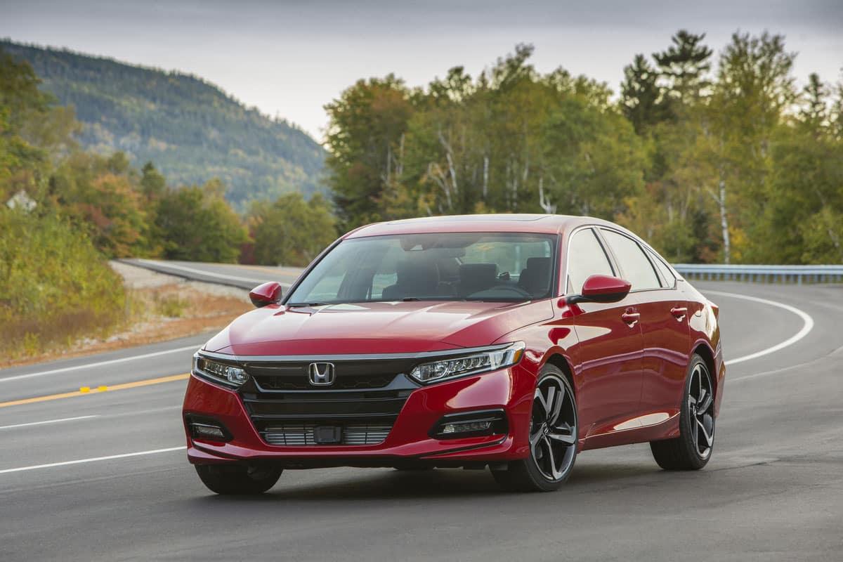 2018 Honda Accord Best Retained Value Awards 2018 Honda Civic ...