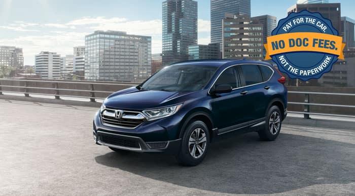 2018 Honda CR-V LX Special Financing