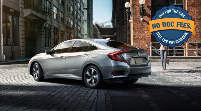 Civic Special Financing