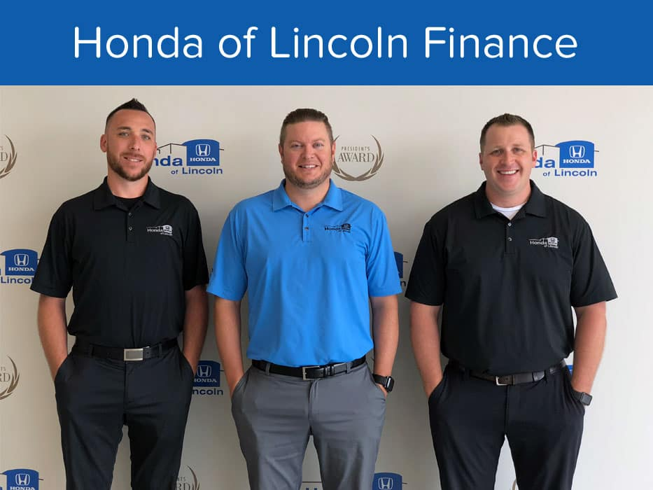 Honda of Lincoln Finance Team
