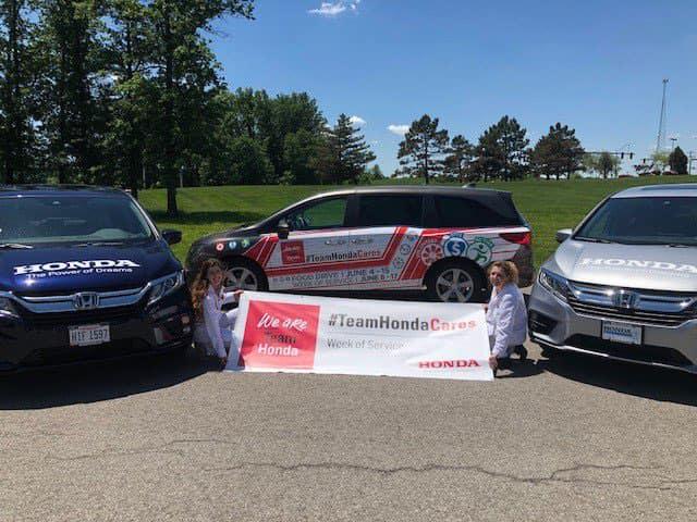 Team Honda Week of Service