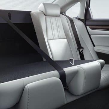 2018 Honda Accord fold down rear seat