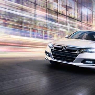 2018 Honda Accord city driving