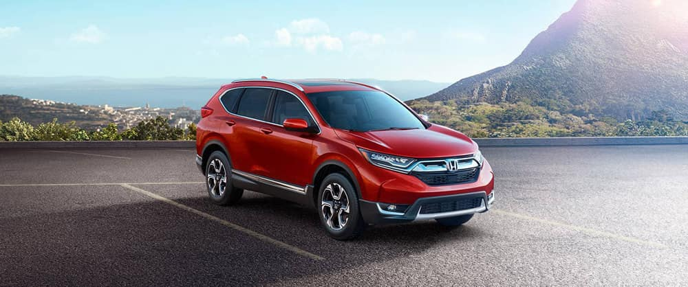 2018 Honda CR-V in the desert