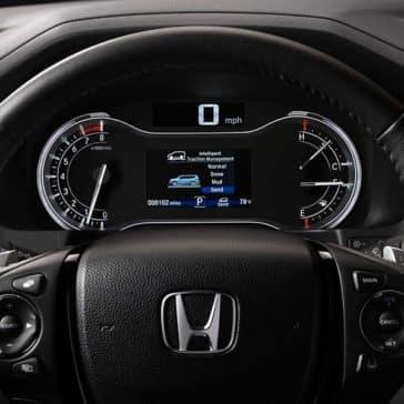 2018 Honda Pilot dashboard