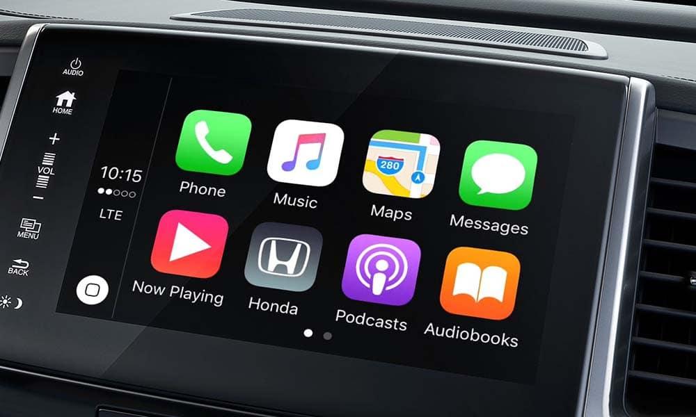 2018 Honda Pilot touch screen