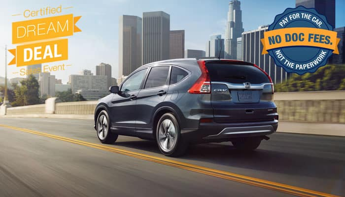 Certified Pre-Owned CR-V Special Financing