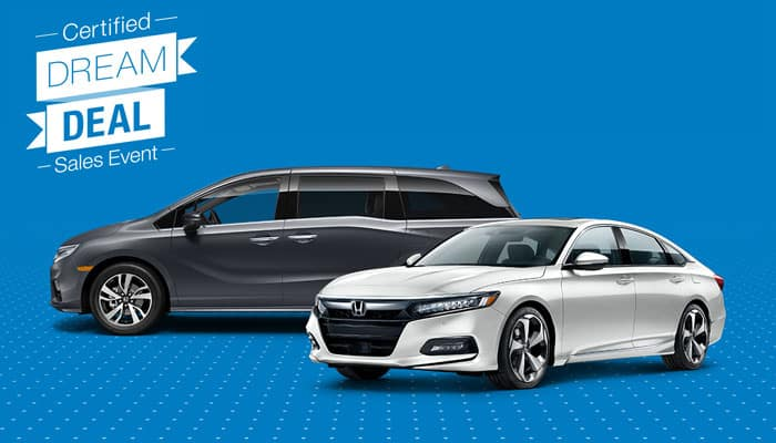 Certified Pre-Owned Accord and Odyssey Special Financing