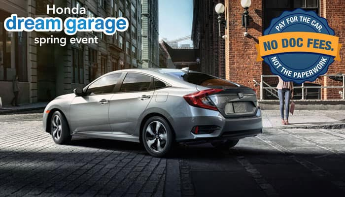 2018 Civic Special Financing
