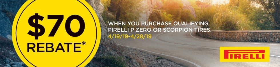 pirelli mail in rebate
