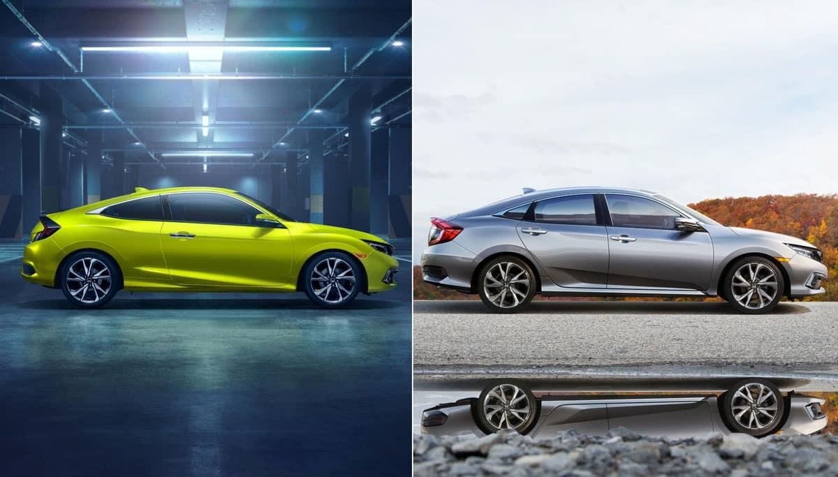 2019 Honda Civic Sedan And Coupe America S Best Selling Nameplate Gains Sport Trim Standard Honda