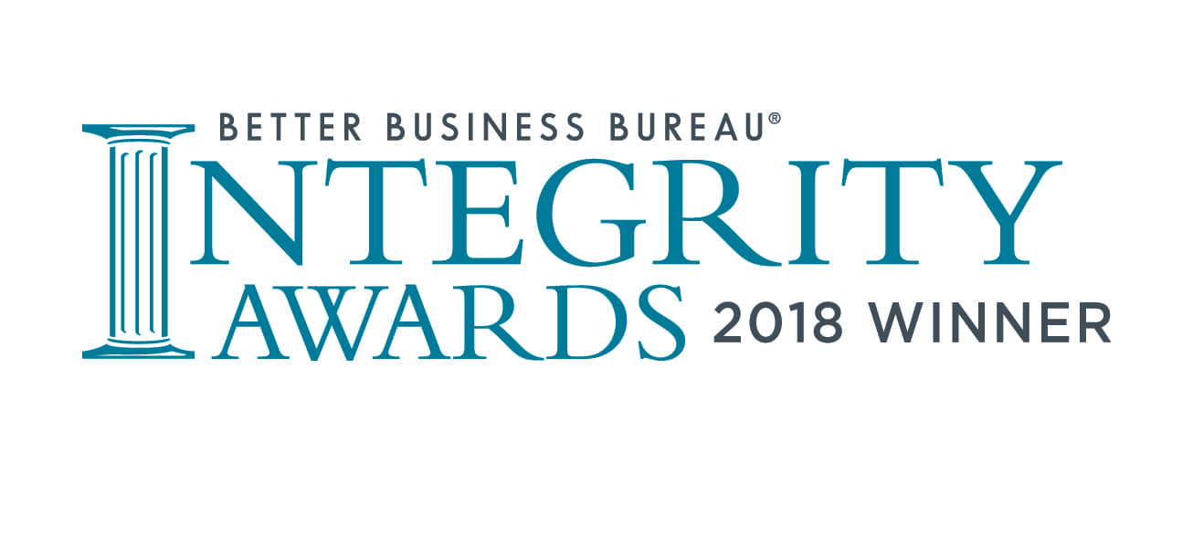 better business bureau integrity award