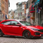 2019 Civic Type R and Civic Hatchback